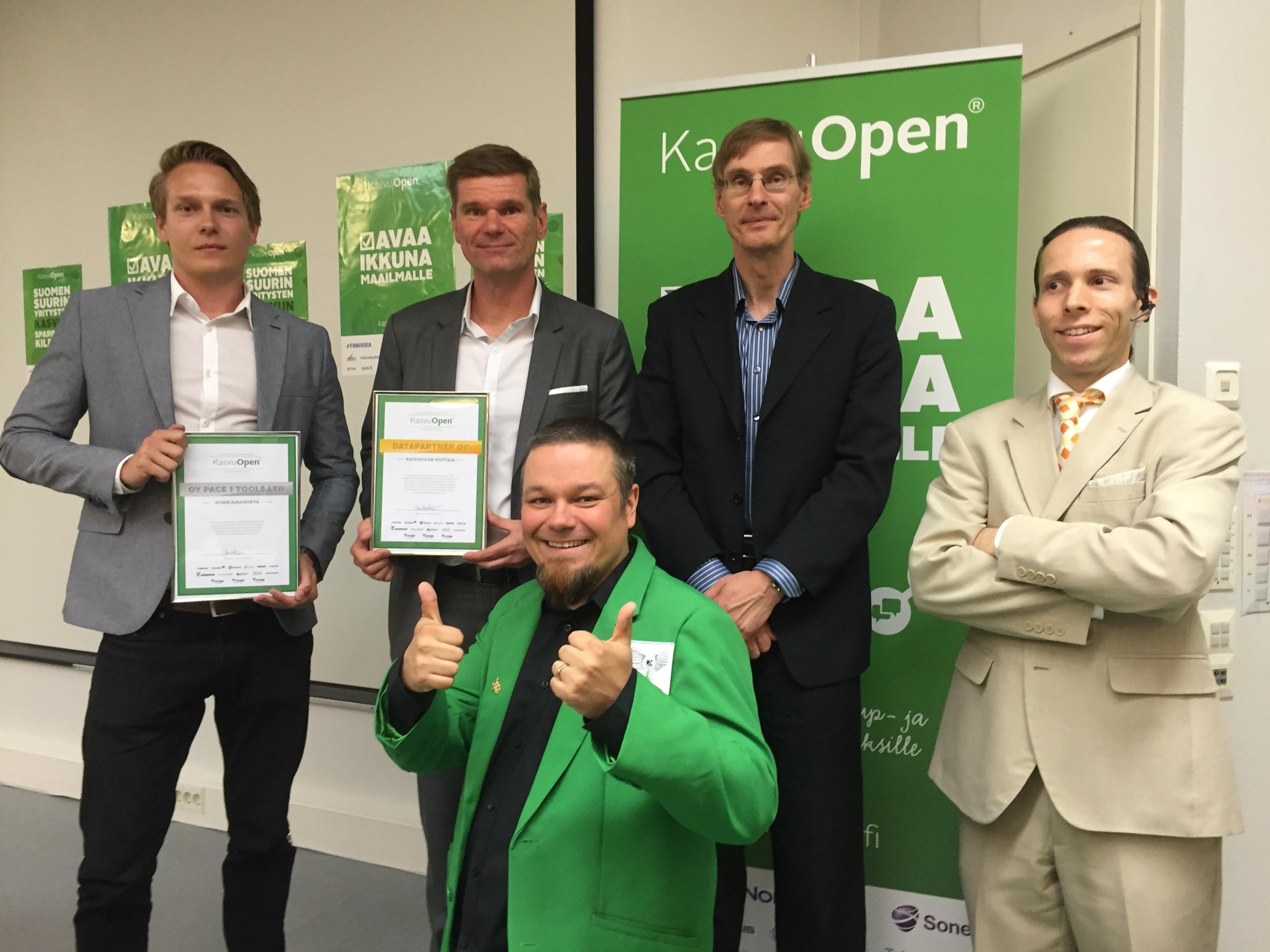 Kasvu Open voittajat 2016