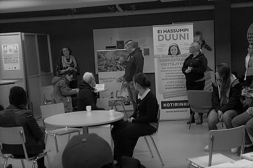 Porvoon Ohjaamo - siivousalan rekrytointitilaisuus 2017
