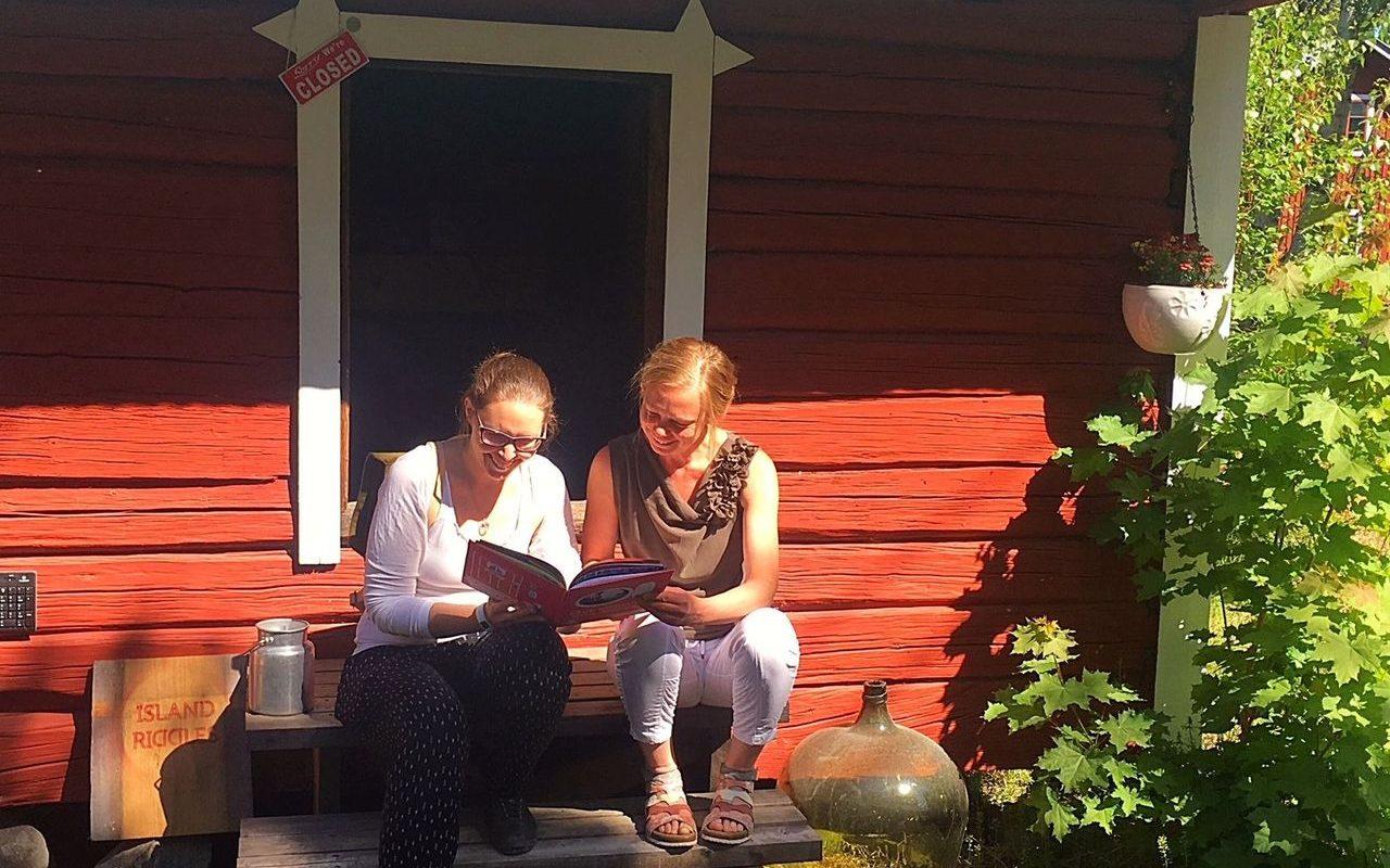 Island Riddles -yrittäjä Erika Englund toivoo lisää yhdessä tekemisen meininkiä
