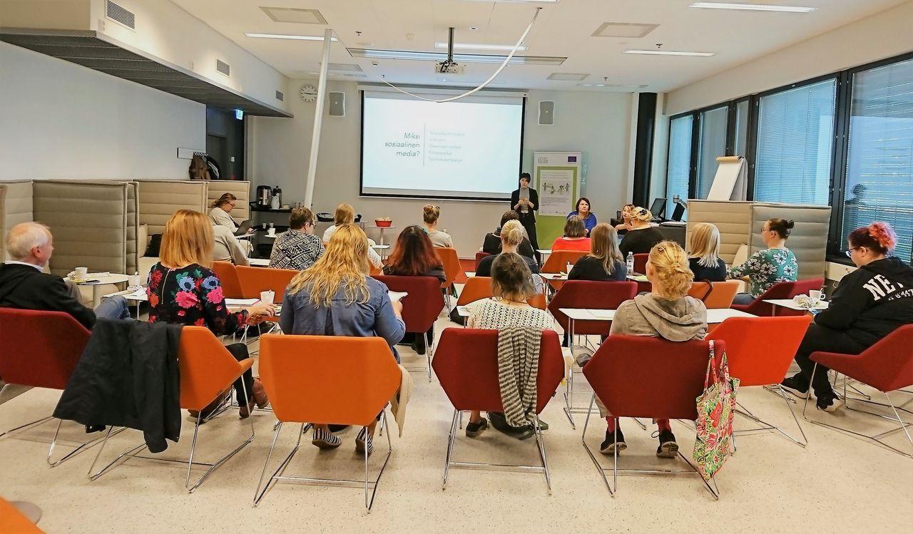 Palko-hankkeen some-koulutus 12.9.18