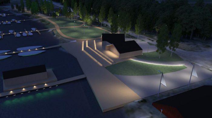 Smart lighting solutions for Porvoo's new guest harbour