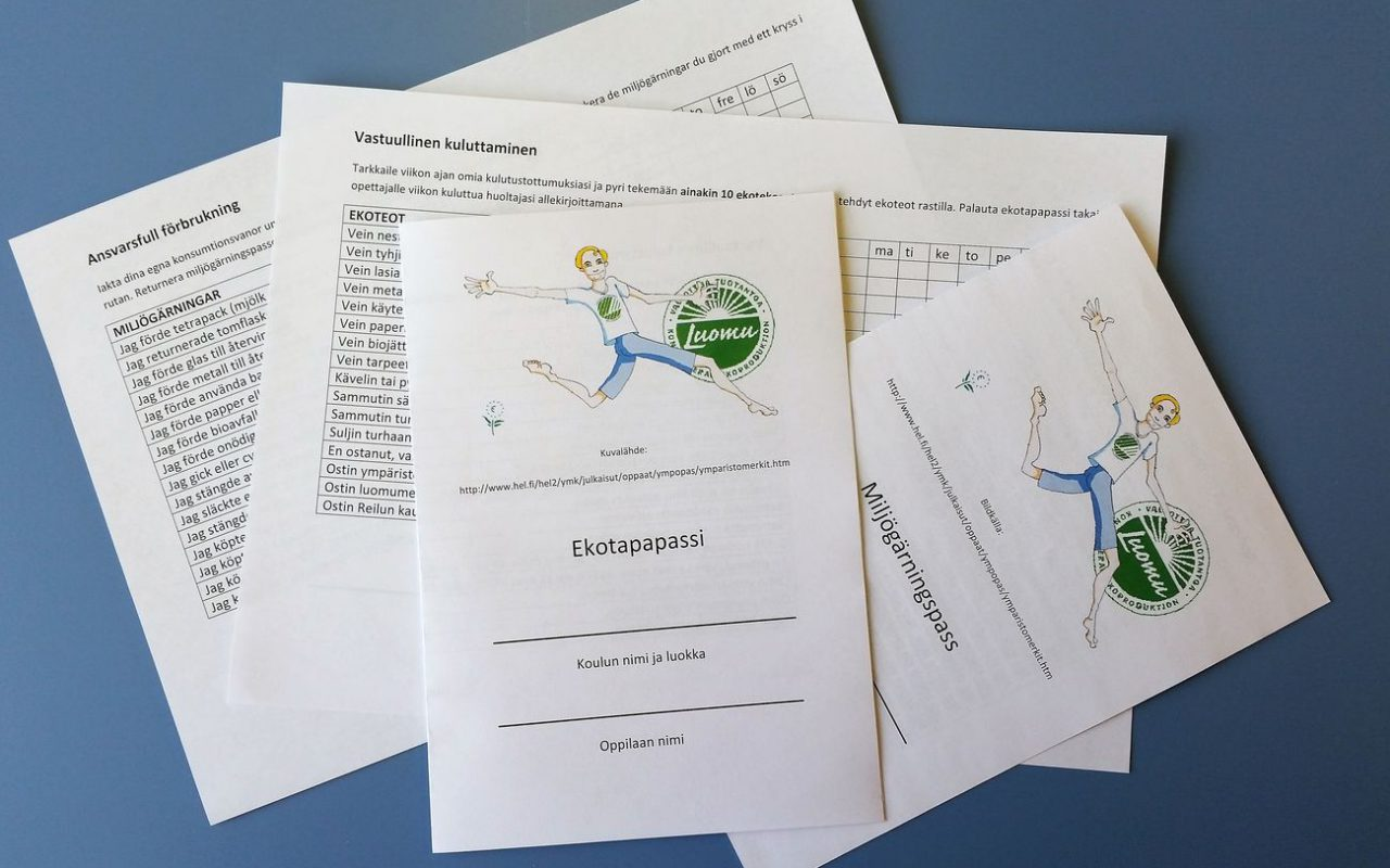 Ekotekotempaus: Ekotapapassi