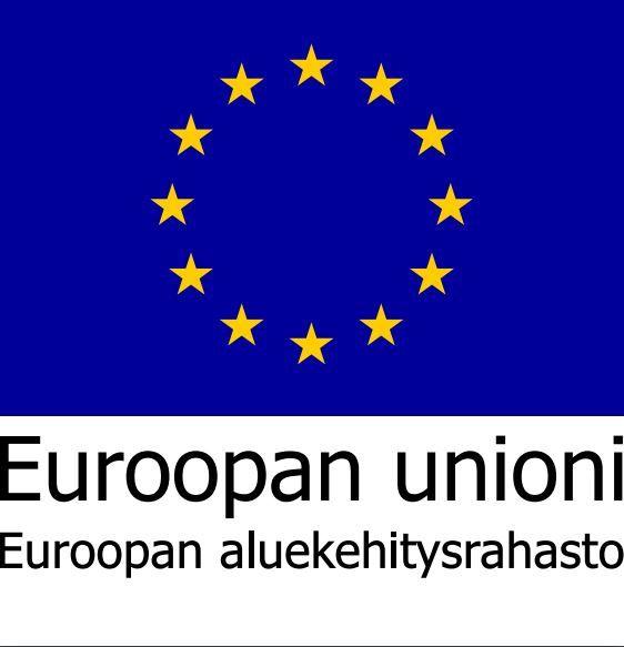 Euroopan aluekehitysrahasto logo