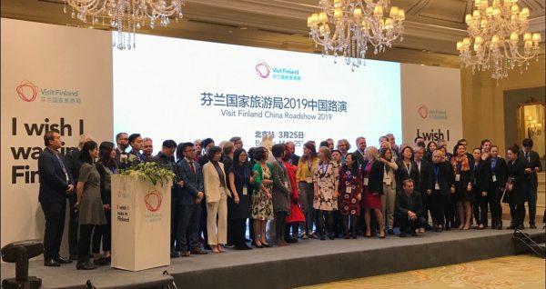Visit Finland China Roadshow 2019 Peking