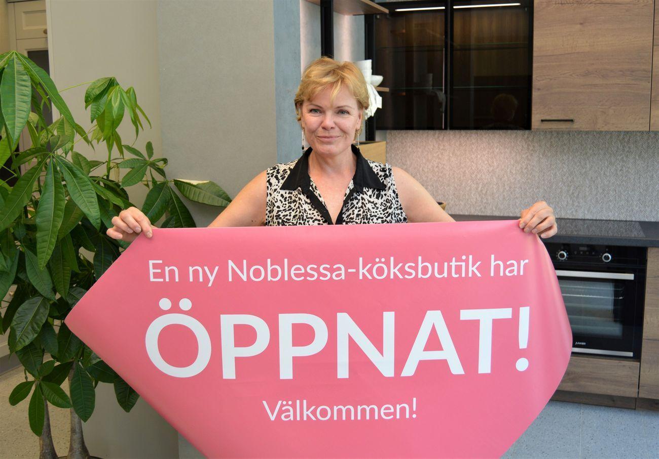 Noblessa-yrittäjä Mona Lönnroth