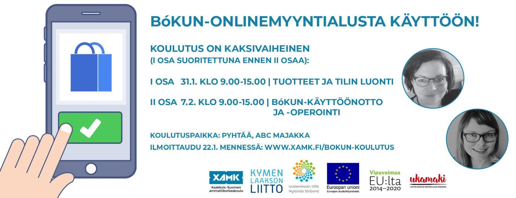 Bókun utbildning (på finska)