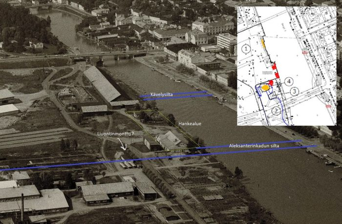 The last marks of the industrial history of Länsiranta
