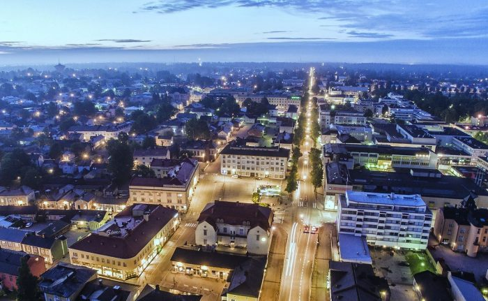 From design to implementation – Smart city lighting to Porvoo