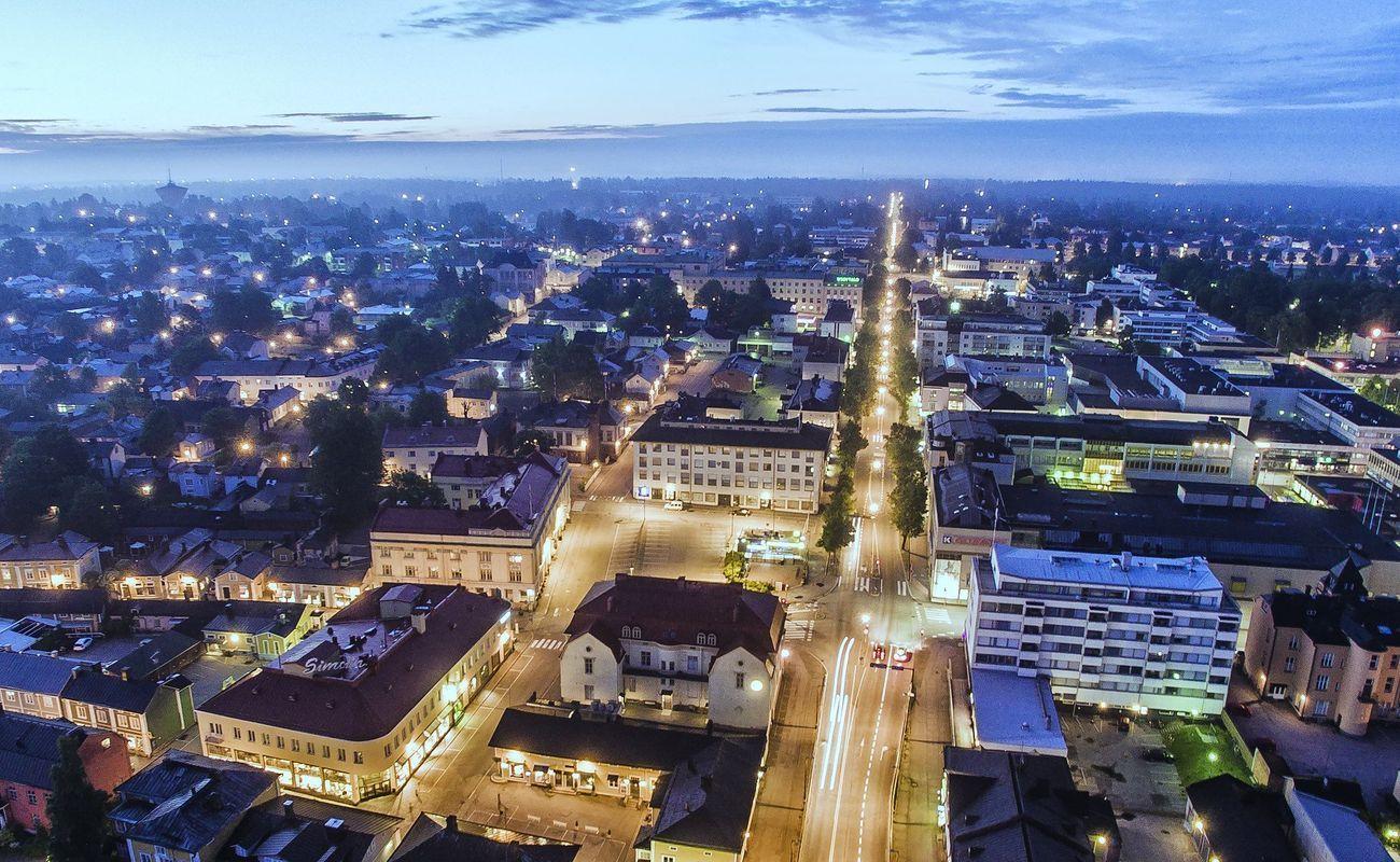 Från plan till verkställighet – smart stadsbelysning i Borgå
