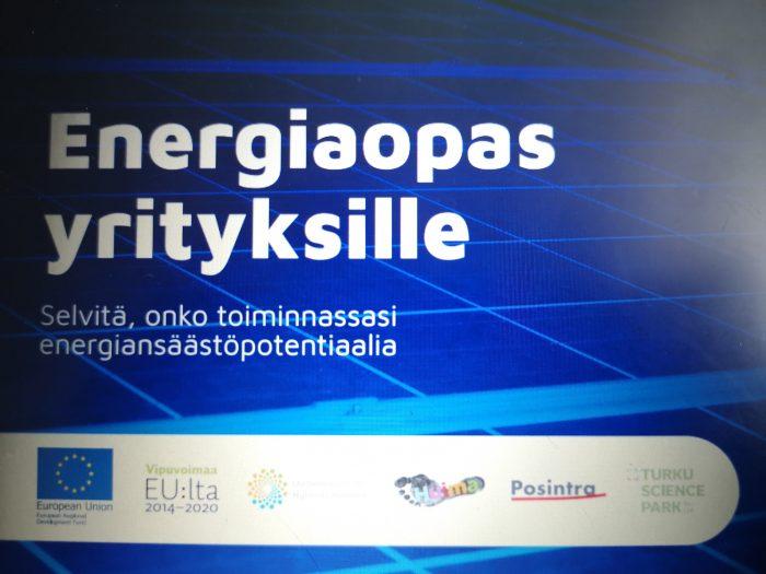Energiaopas yrityksille