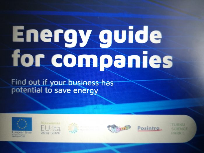 Energy guide for companies