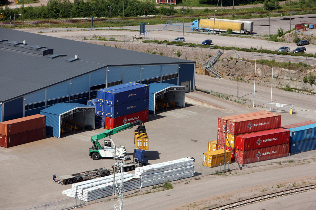 Fartygsförbindelse mellan hamnarna i Lovisa och Kunda skulle ge många fördelar