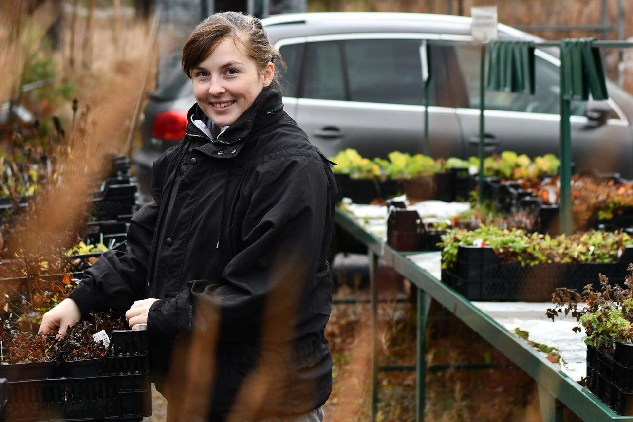 Cassandra Wikström toteutti unelmansa ja ryhtyi puutarhayrittäjäksi