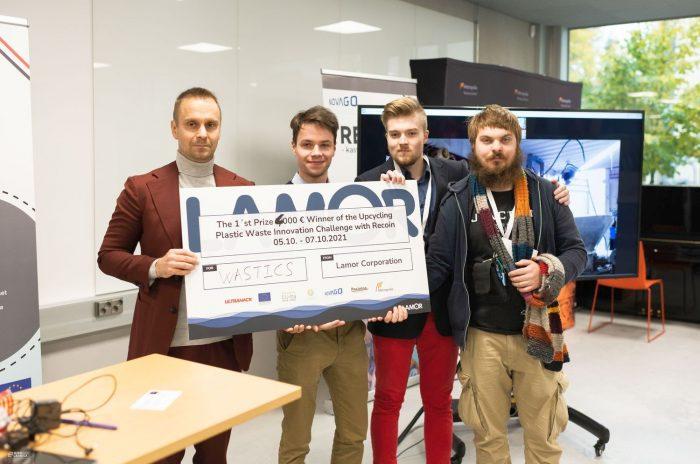 Hackathon-vinnaren har utsetts: Problemet med marint skräp kan i framtiden kontrolleras med hjälp av satelliter